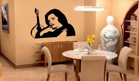 decoração de interiores salas, fado, amalia artigos para decoraçao, vinil