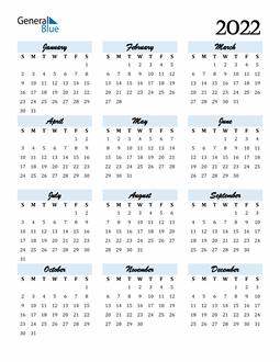 2022 Weekly Calendar Excel.2022 Calendar Pdf Word Excel Calendar Printable Yearly Calendar Print Calendar