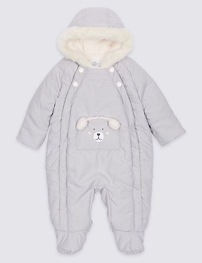 bc5404ec7 Faux Fur Bear Snowsuit with Stormwear™