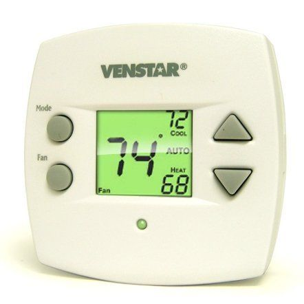 Venstar 1 Day Programmable Multistage Thermostat T1010 By Venstar 54 30 Venstar 1 Day Programmable Multistage Heating And Cooling Led Indicator Cool Stuff