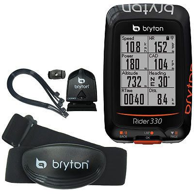 Cycle Computers And Gps 30108 New Bryton Rider 330t Gps Cadence