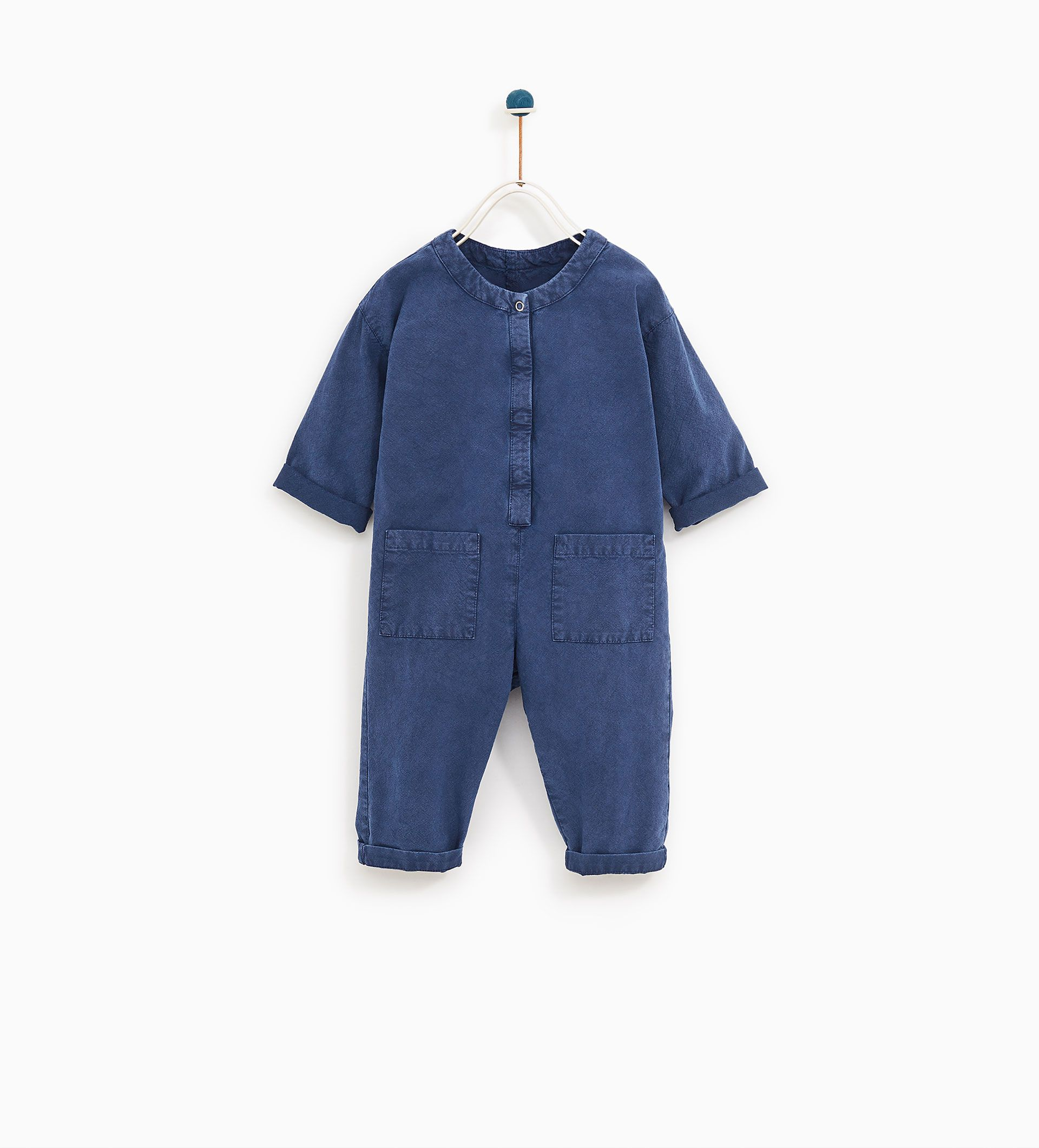 a9d6cdb222d0 Image 1 of WORKER JUMPSUIT from Zara Striped Jumpsuit