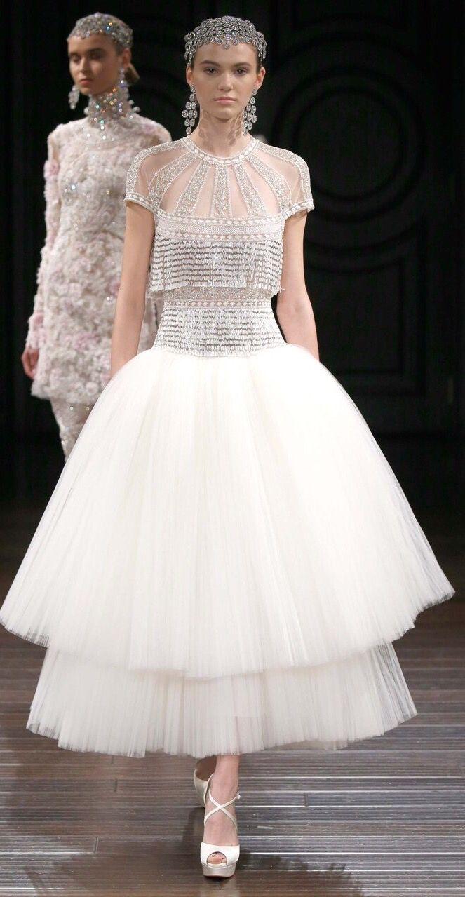Naeem khan bridal spring fashion show spring fashion show