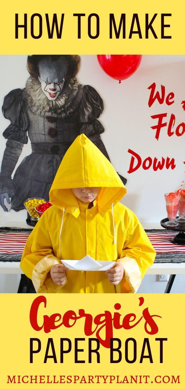 Photo of Wie man Georgies Papierboot aus IT macht – Michelle's Party Plan-It