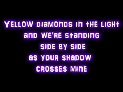 Rihanna We Found Love Ft Calvin Harris Lyrics The Yellow