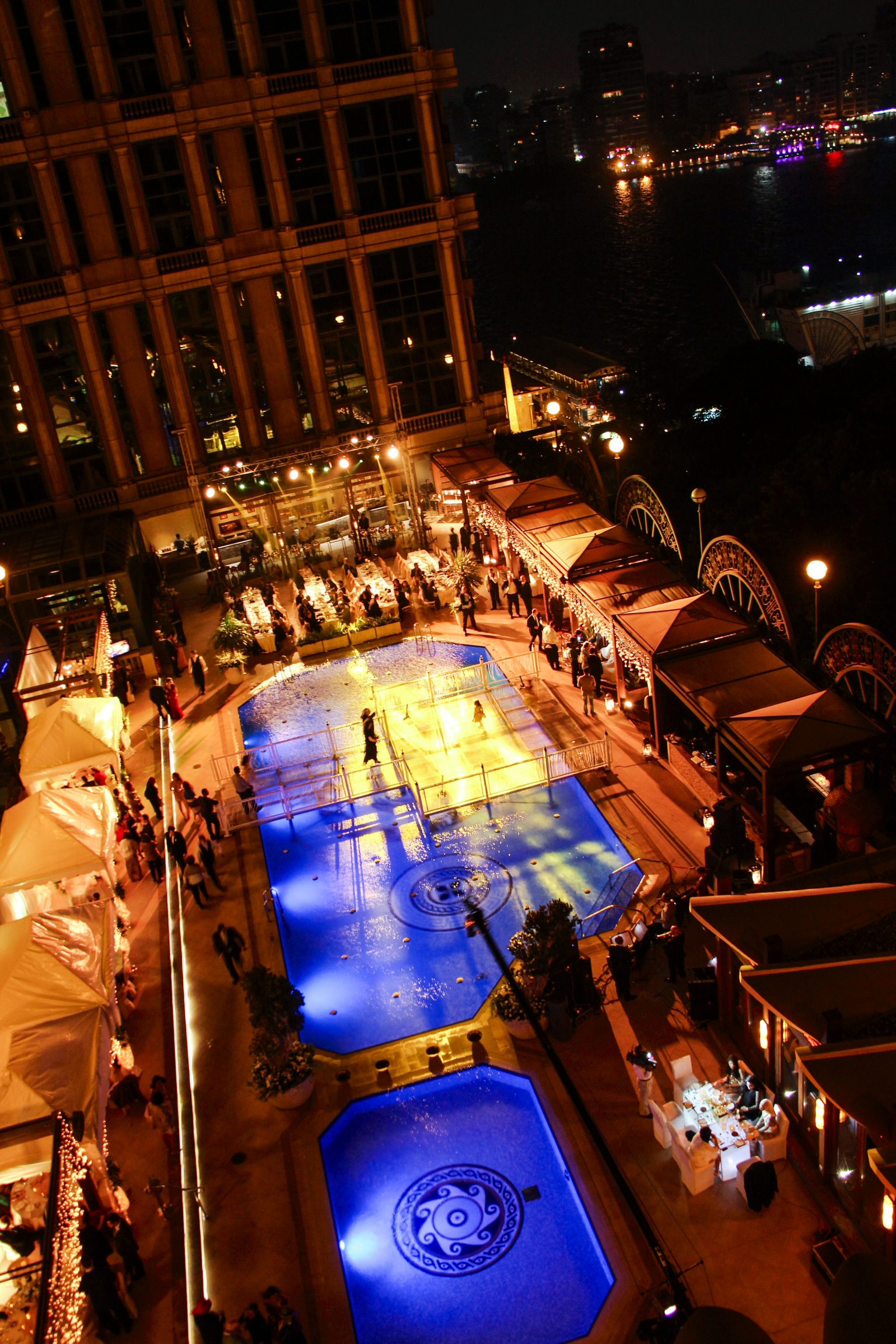 Views From The Top Skypool Four Seasons Events Outdoor Romantic Cairo Aura Sky Pool Outdoor Pool Cairo