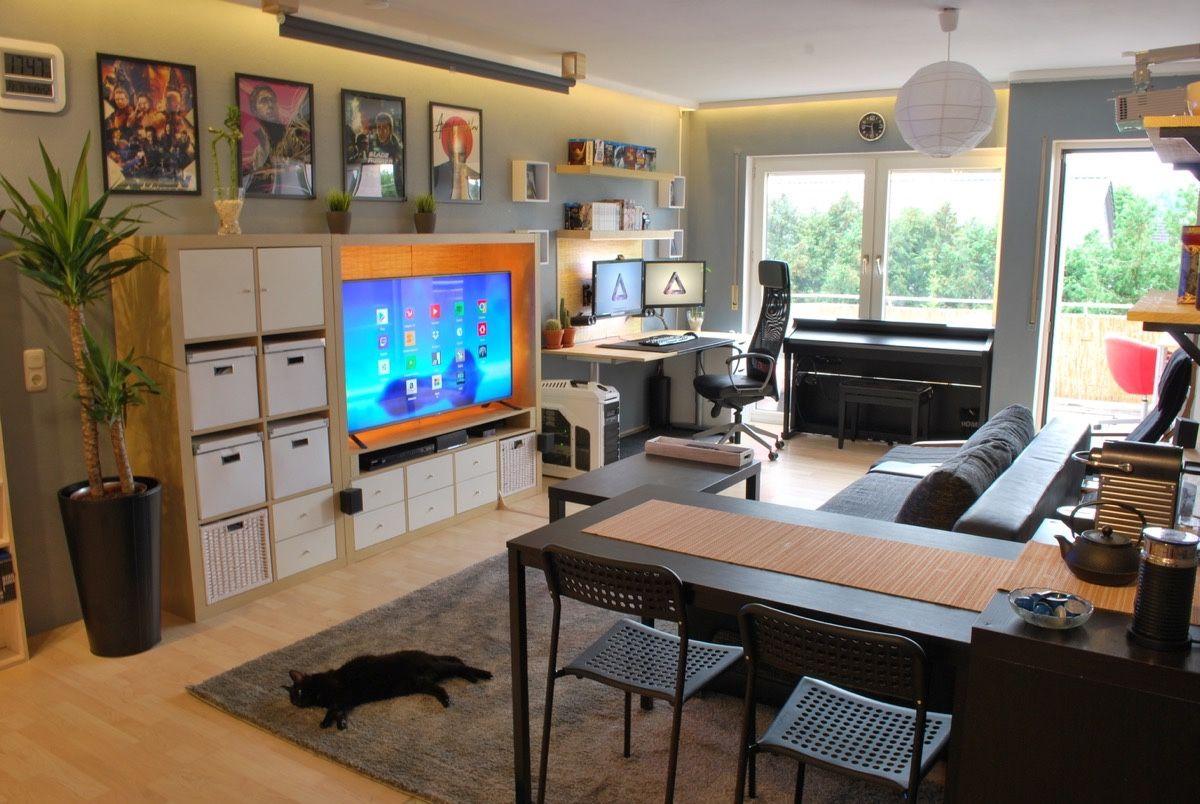 4 Single Studio Apartment Designs under 100 Square Metres | Living