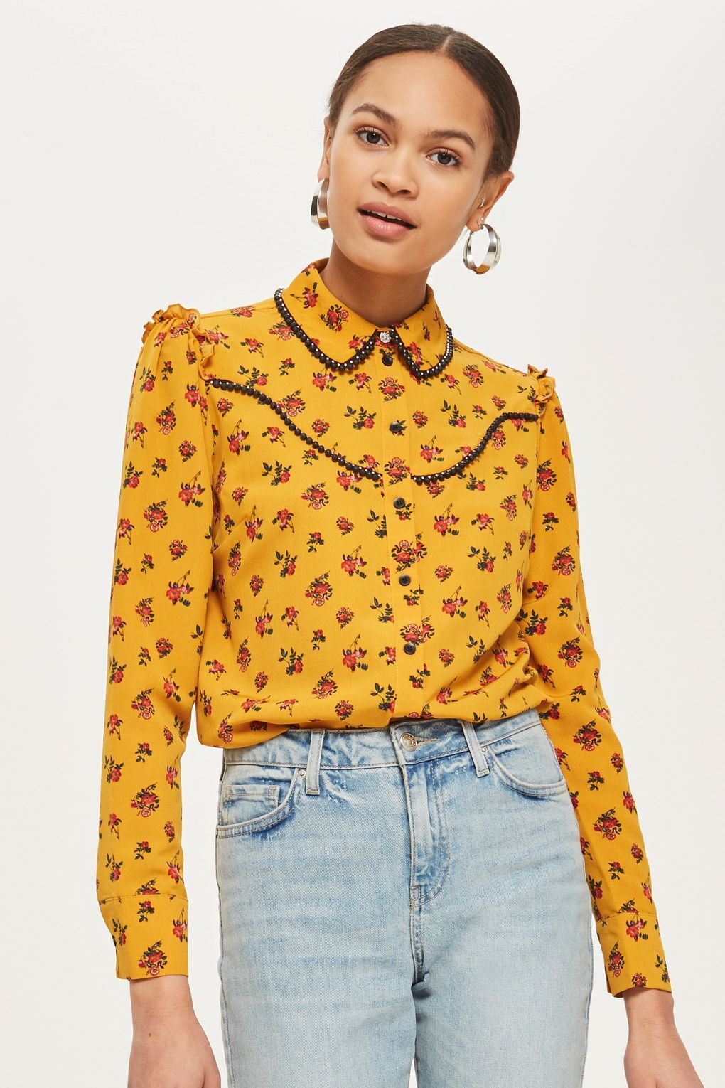 4fad6f746a2c1e Rodeo Floral Spotted Shirt | things I want | Rodeo shirts, Shirts ...