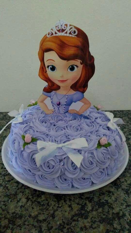 Princess Sofia the 1st Cake Cakes Princess Sofia the First