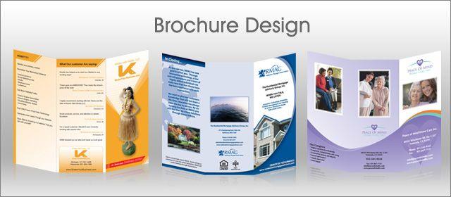Cohesive Brochure Designs  Design Inspiration