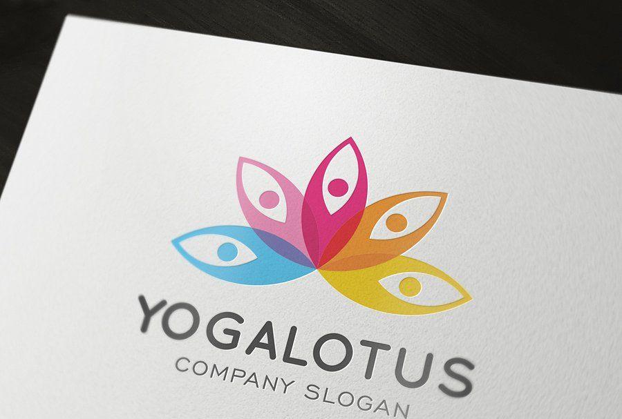 Yoga Lotus Logo LotusYogaTemplatesLogo Lotus logo
