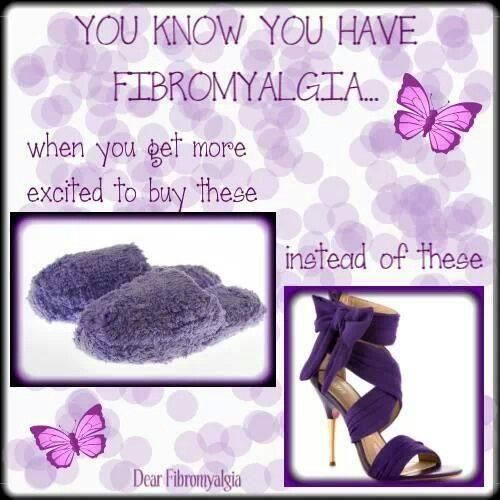 You know you have Fibromyalgia when........ #Fibromialgia #ChronicPain