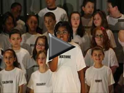Sing for Change Students at Blackwood's Loring Flemming Elementary School are using their voices to educate people about bullying, respect,...