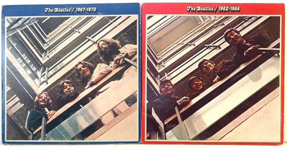 The Beatles 1962 1966 1967 1970 Red Blue Lp Vinyl Record Album Lot Of 2 Vinyl Records Lps Vinylrecords S Beatles Vinyl Vinyl Records Vinyl Record Album