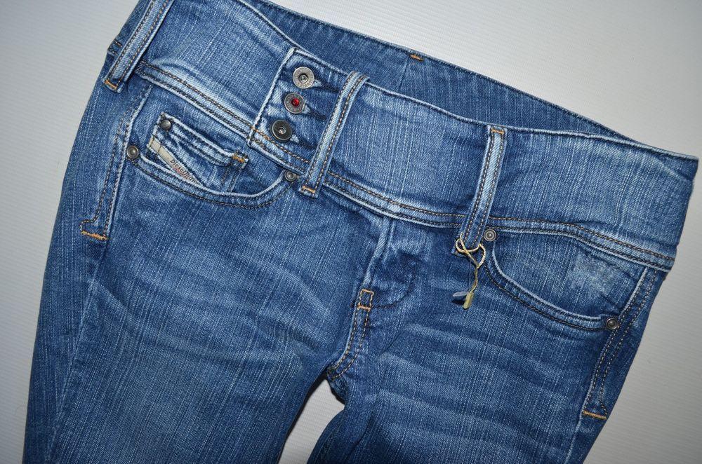 ea73911e ladies DIESEL CHEROCK 008DW Stretch BOOTCUT LEG JEANS women W28 L30 size uk  8-10