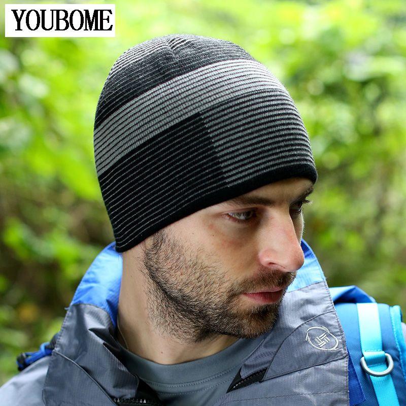 2017 Brand Fashion Beanies Mens Hat Winter Hats For Men Women Caps Skullies Knit  Winter Hat Bonnet Beanie Outdoor Ski Sport Cap fce9fcd8d6b4