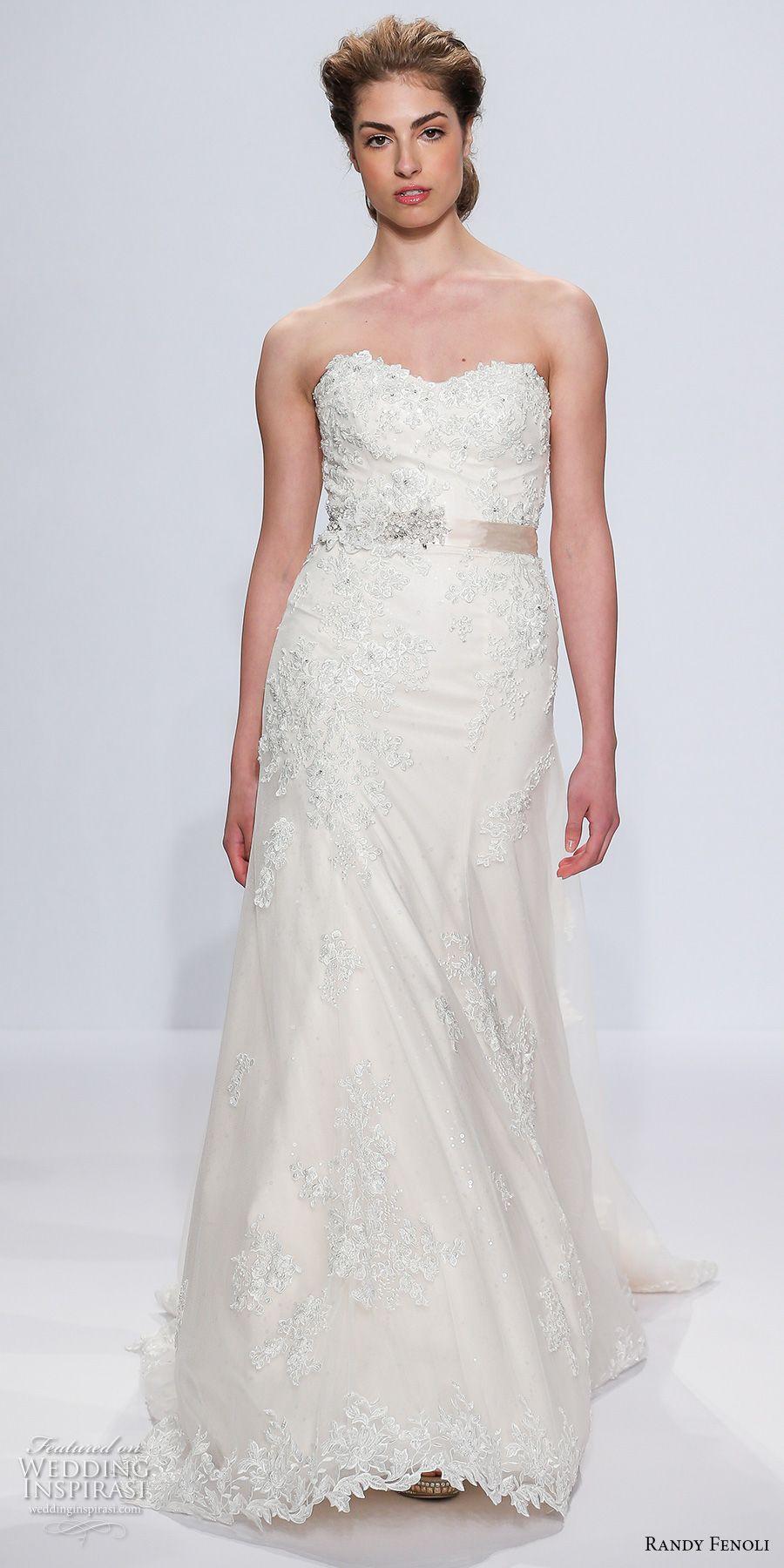 Randy Fenoli Bridal Spring 2018 Wedding Dresses — New York