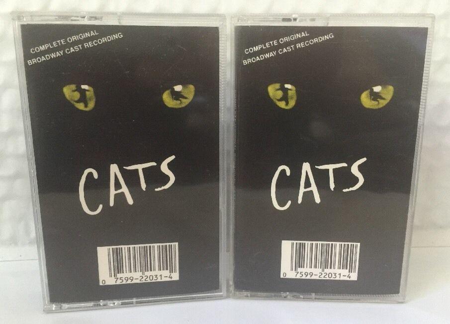 Cats The Musical Original Broadway Cast Recording 2 Cassette Tape Set The Originals It Cast Music Cassette