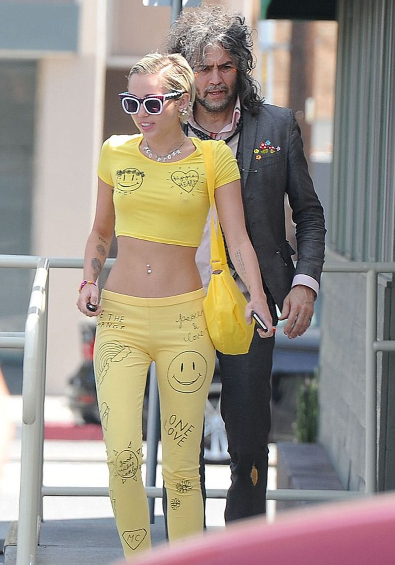 Miley cyrus see through photos new picture