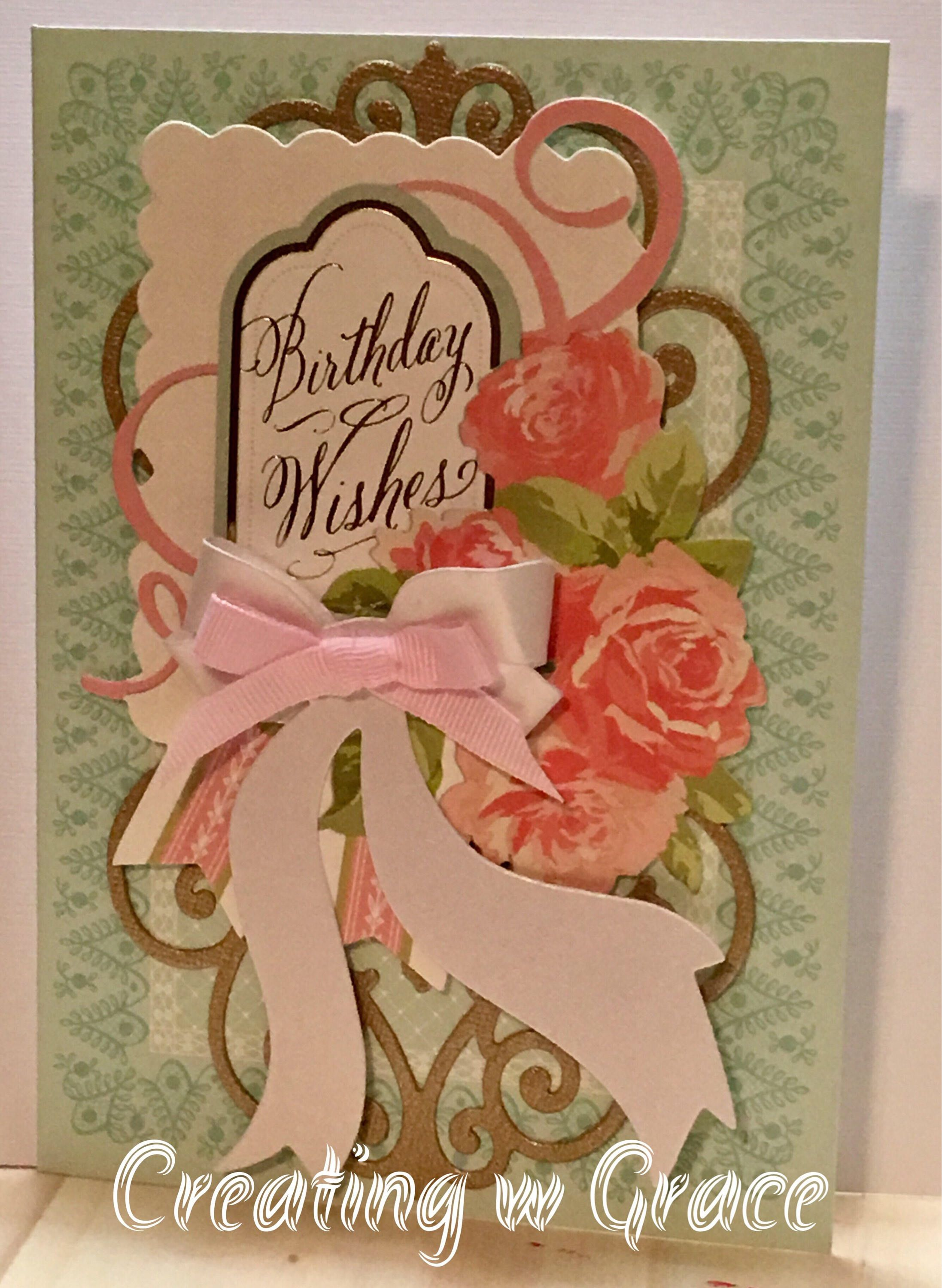 Birthday Wishes Card (With images) Birthday wishes cards