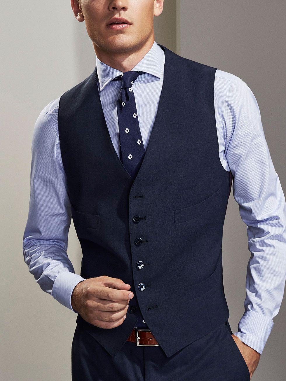 The Collection Personal Tailoring Hombre Massimo Dutti Espana Traje Azul Ropa Masculina Moda Hombre