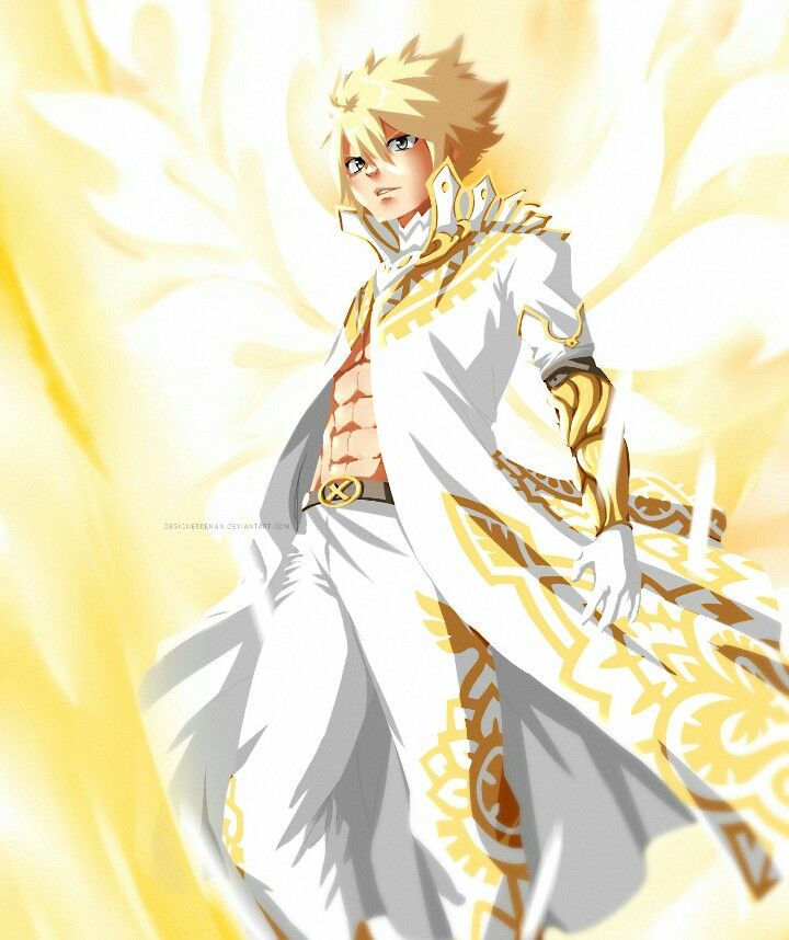 Zeleph le mage blanc fairy tail pinterest personnage - Fille fairy tail ...