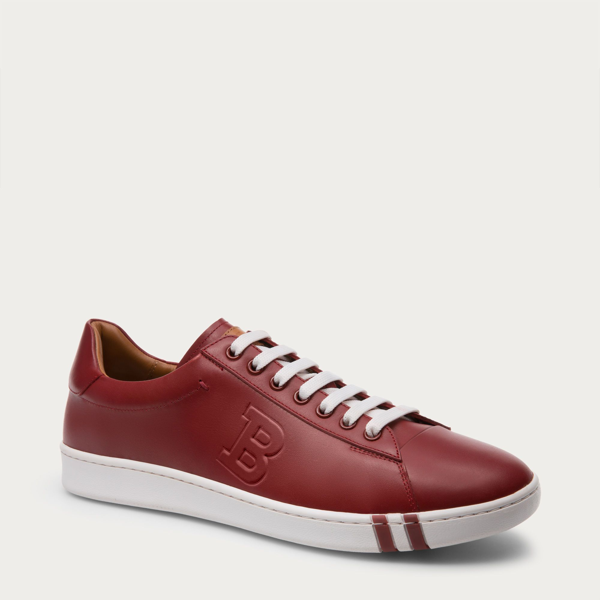 2887ae65f600f ASHER - BALLY RED 14 CALF Sneakers