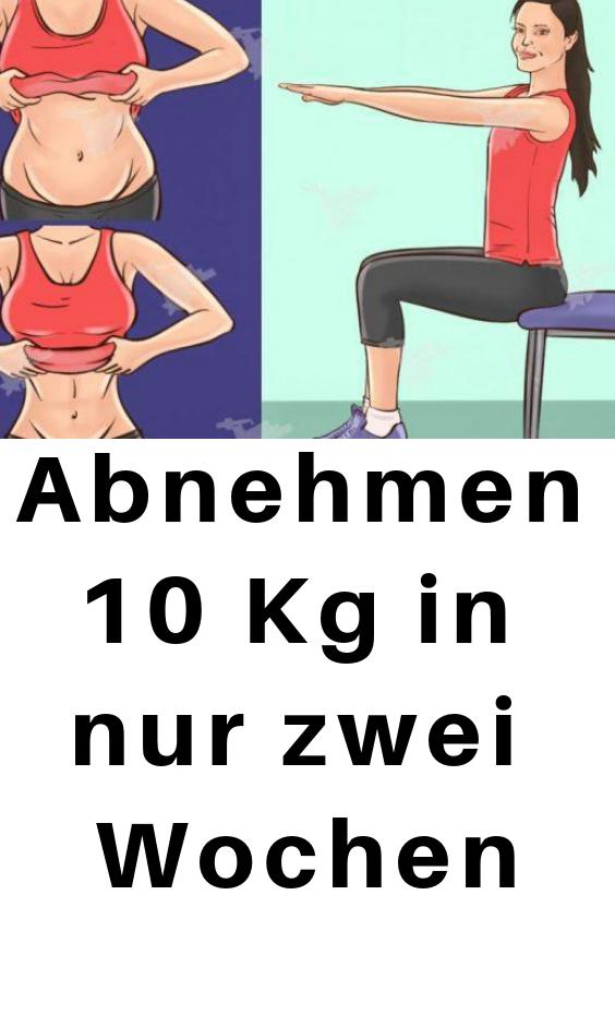 10 Übungen zum Abnehmen in 2 Wochen