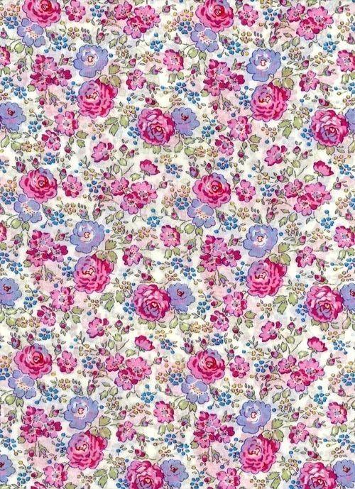 Liberty tana lawn fabric felicite 6x27 uk seller - Papier peint liberty ...
