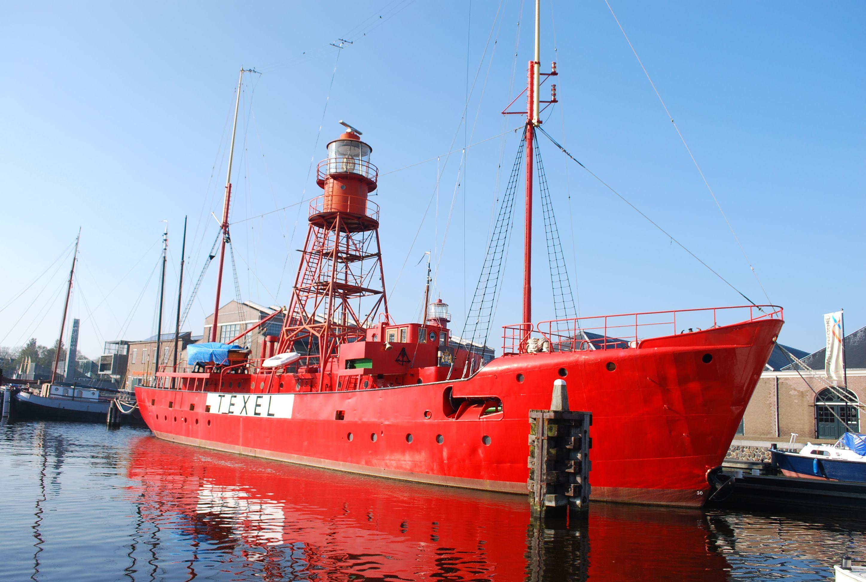 lichtschip Texel, Den Helder