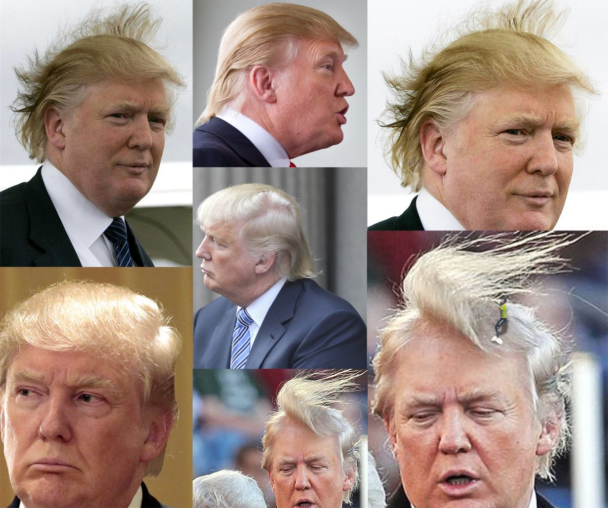 Donald Trump hairstyle tutorial #DonaldTrump #hairstyles # ...