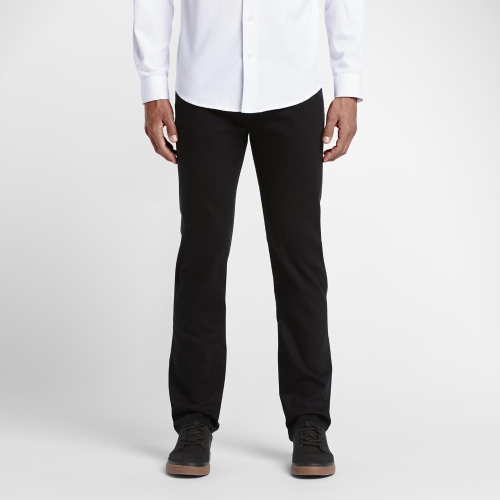 43d7a8c226e Hurley Dri-FIT 84 Slim Twill Men s Pants Size 31 (Black)