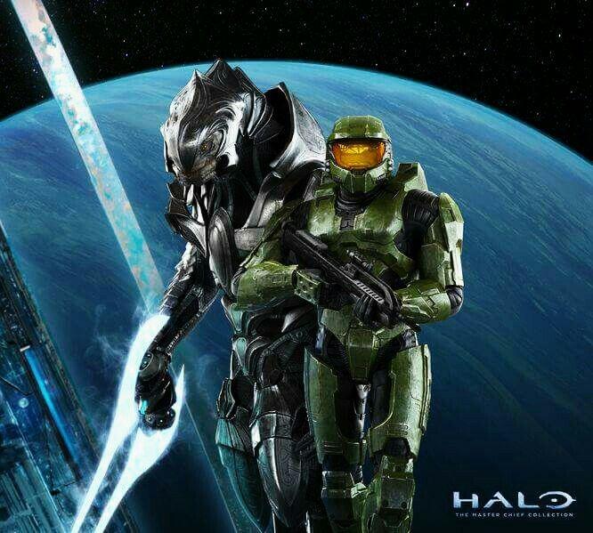 Arbiter And Chief Halo 2 Anniversary Halo 2 Halo