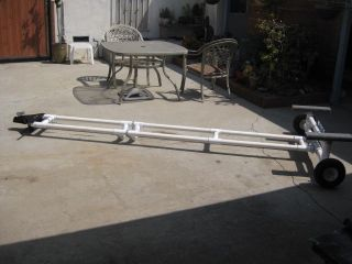 Rick Designed And Built This Small Boat Trailer Made With