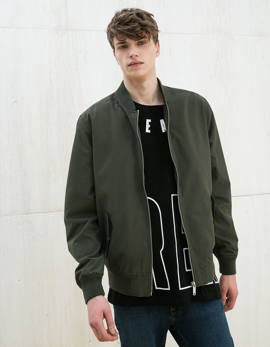 Coloured bomber jacket - New - Bershka Poland | This is my style ...