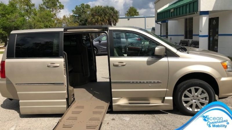 Wheelchair Accessible 2013 Chrysler Town & Country For