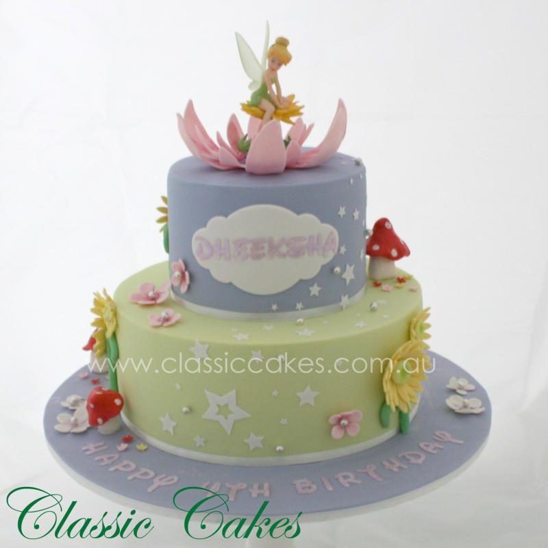 Tinkerbell Birthday Cake By Classic Cakes Gita Rokas Pinterest