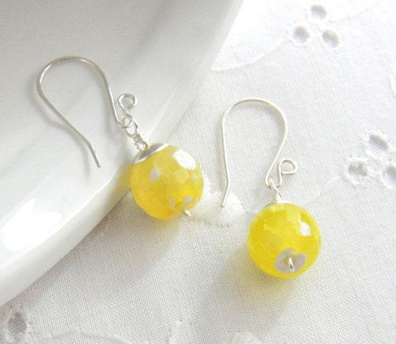 Light Yellow CITRINE gemstone Diy Interchangeable Earring |Light Yellow Gemstone Earrings