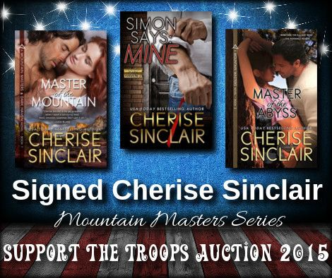 Auction item 'SIGNED--Cherise Sinclair (3 books)' hosted online at 32auctions.
