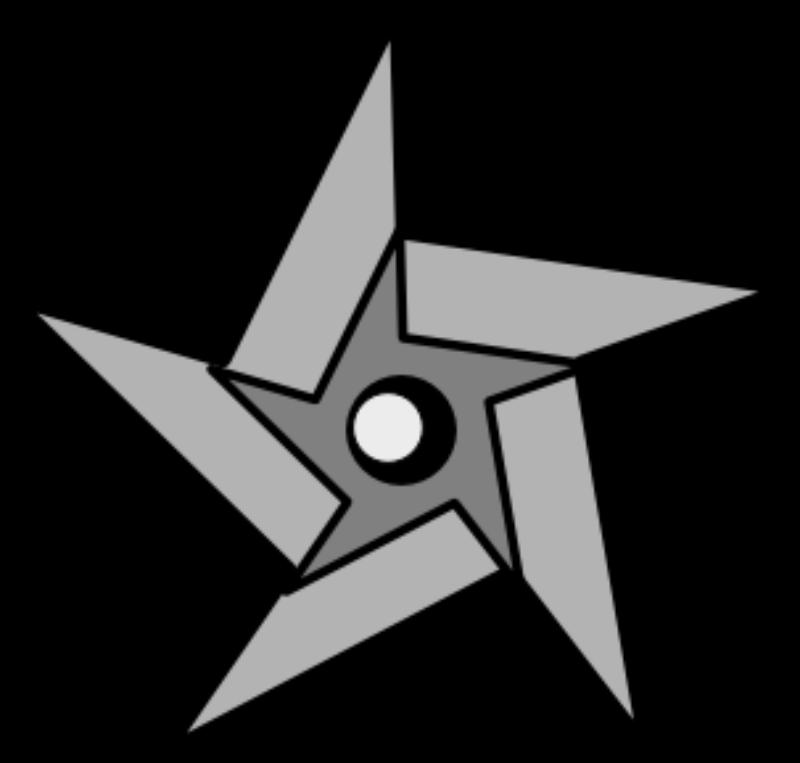 Ninja Star Clip Art Download Ninja Star Art Downloadable Art