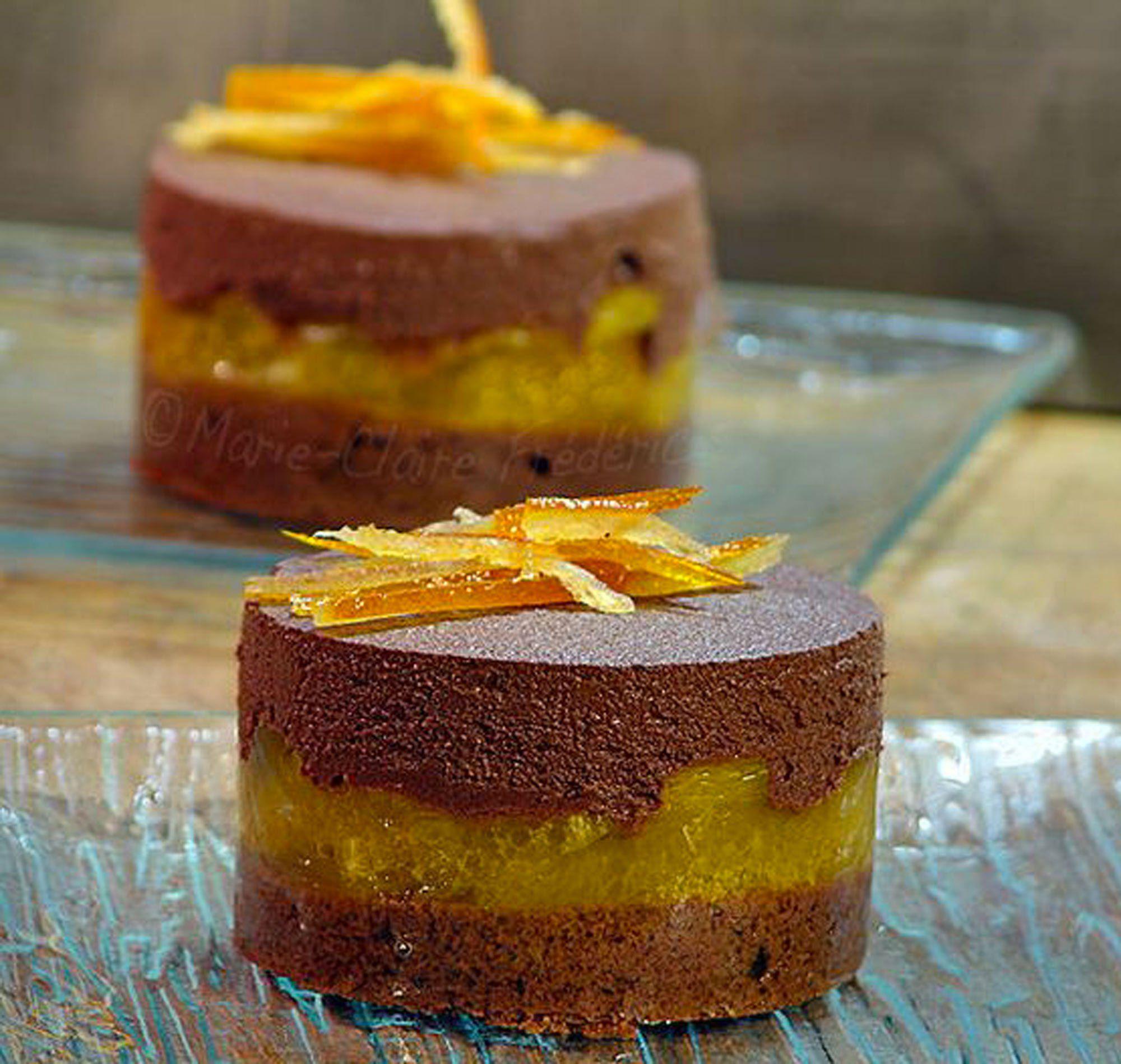 Desserts De Noel Des Idees De Recettes Faciles Pour Changer De La Buche Dessert A L Orange Gateaux Et Desserts Desserts