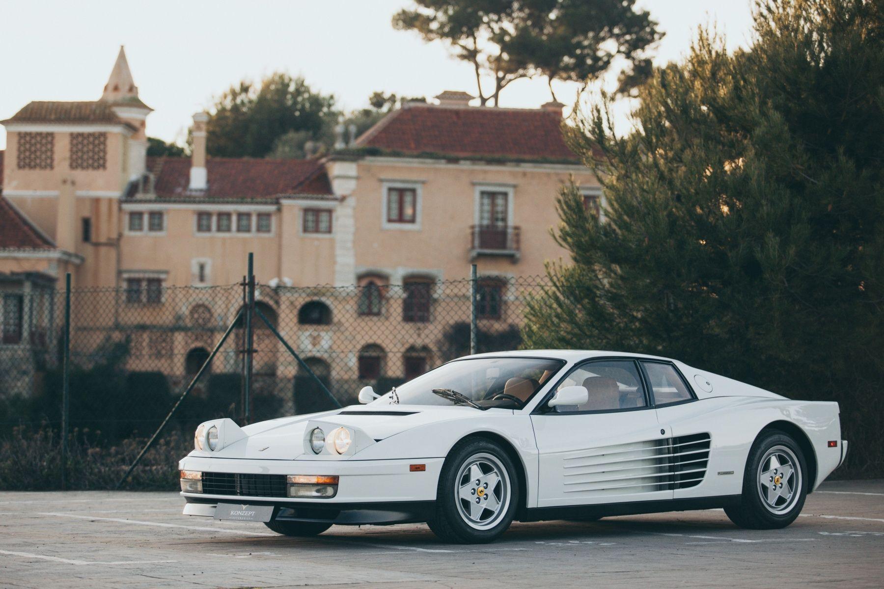 1988 Ferrari Testarossa Miami Vice Classic Driver Market