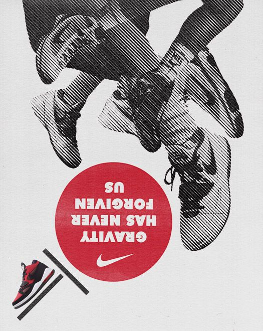 Nike Retail Poster - Hort ------ The retro vintage feel is