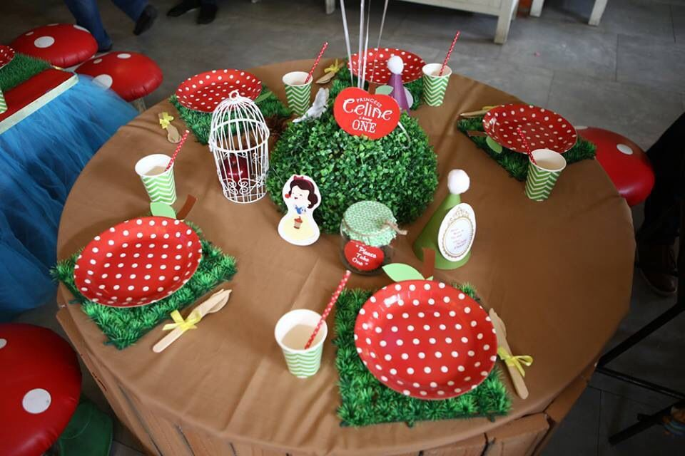 Snow White Birthday Party | Dream Flavours Celebrations