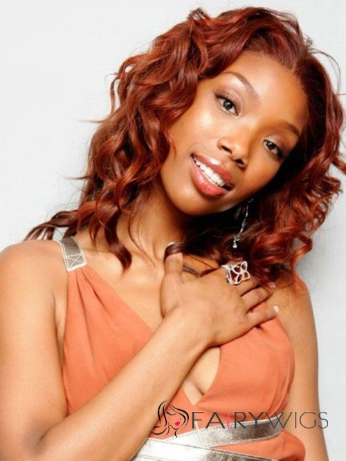Online Wigs Short Curly Red African American Lace Wigs for Women ...