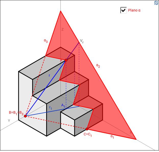 Isométrica: Secciones (PAU 2011 A4) - GeoGebraTube