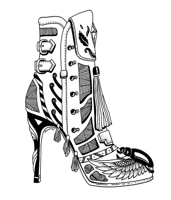 shoes heels drawing. 3 beautiful michael kors shoes drawings for fashion lovers heels drawing o