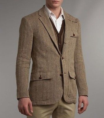 Images of Tweed Sports Coat - Reikian