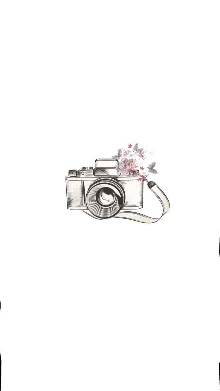 Skecth Fotograf Makinesi Afis Sablon Boyama Sayfalari Mandala