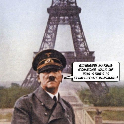 During the second world war, French resistance fighters cut the lift cables in the Eiffel Tower. Why did they do this?